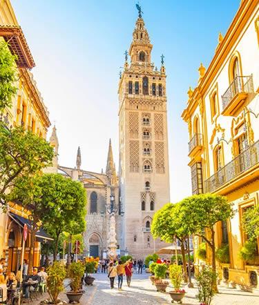 Tour a Sevilla, Lisboa | España,  Portugal en Español 2021-2022